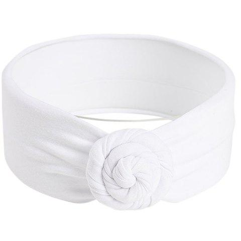 Cute Baby Knot Head Band - WHITE