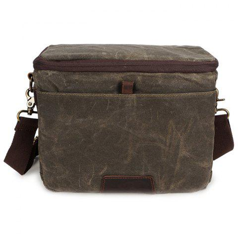 2019 GFAVOR 3191 Waterproof Canvas Camera Bag for Men In ARMY GREEN ... 3838b40ded1d2