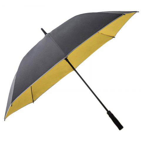 Business Double Layer Dual-use Straight Shank Long Big Umbrella - multicolor C