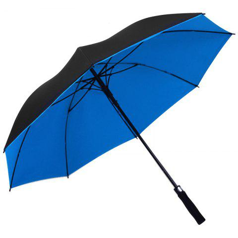 Business Golf Dual-use Straight Shank Long Umbrella - multicolor D