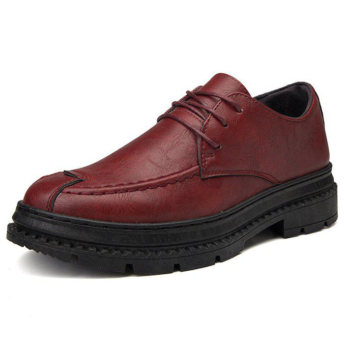 Leisure Oxford Shoes for Men - RED EU 41