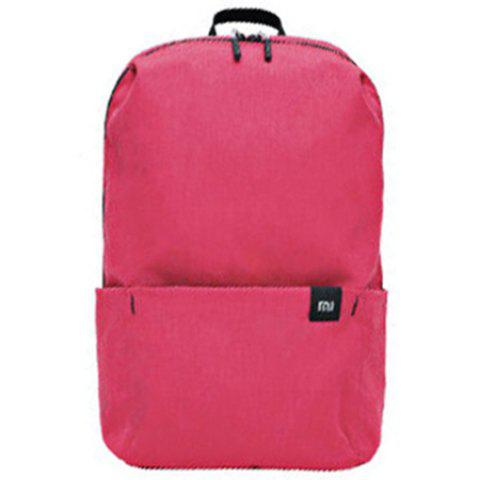 Xiaomi Solid Color Lightweight Water-resistant Backpack - PALE VIOLET RED