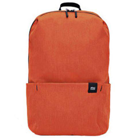 Xiaomi Solid Color Lightweight Water-resistant Backpack - ORANGE