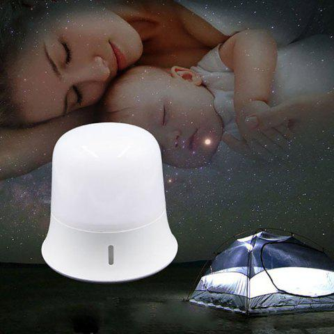 Touch Dimming LED Night Light for Bedroom Bedside - WHITE