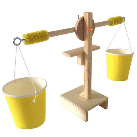 Wood Plastic Balance Model for Intelligence Development - YELLOW