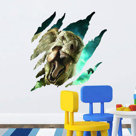 ZY1450 Three-dimensional Dinosaur Wall Sticker for Decoration - multicolor A