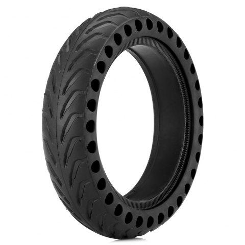 gocomma Rubber Solid Tire with Hollow Design for Xiaomi M365 Electric Scooter - BLACK