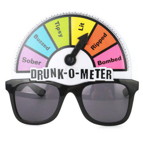 Creative Alcohol Tester Funny Glasses Toy Sunglasses for Party - multicolor