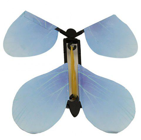 Creative Magic Prop Flying Butterfly Children Toy - multicolor A