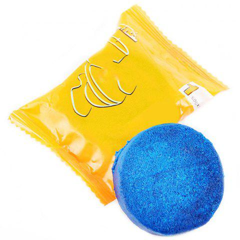 Toilet Cleaner Blue Tablet Cleaning Block - BLUE