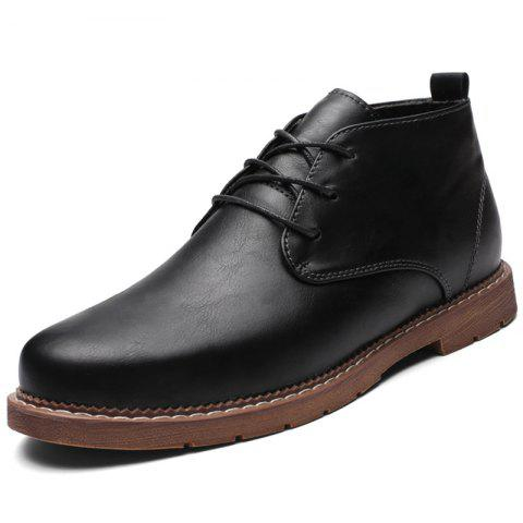Men's Oxford Shoes for Daily Use - BLACK EU 39