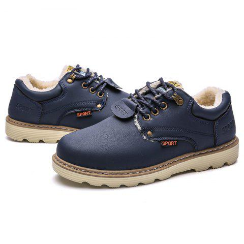 Men's Martin Boots  - DEEP BLUE EU 41