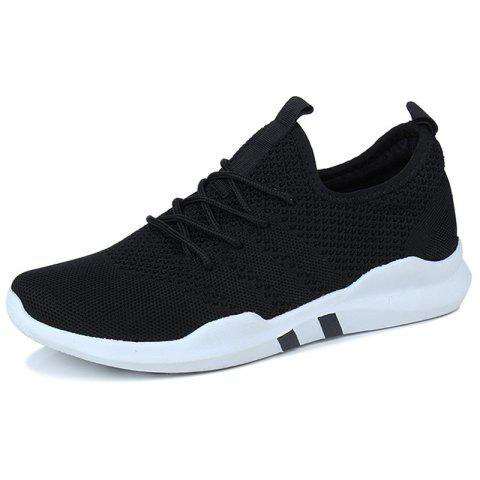 Men's Sneakers Stylish Comfortable Durable - BLACK EU 39