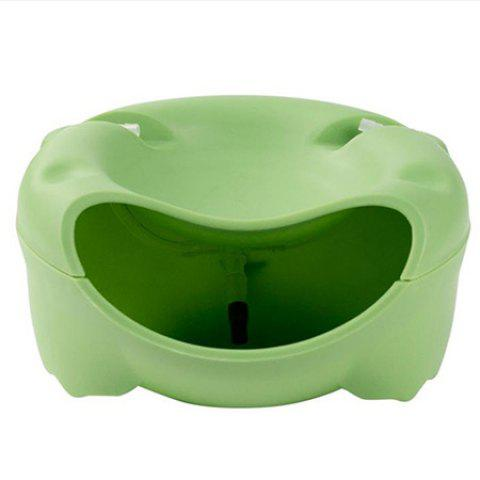 Electric Pet Water Dispenser Automatic Cat Drinking Water Machine - YELLOW GREEN