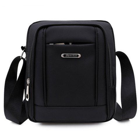 BINSHUAI 591 Multifunction Men's Crossbody Bag - BLACK 2