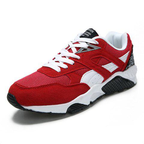 Men's Fashion Sports Shoes for Daily Use - RED EU 39