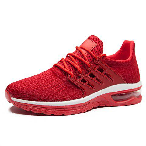 Men's Leisure Sports Shoes with Fly Woven - RED EU 41