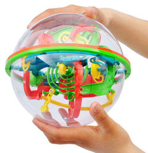 Magical Intellect Maze Ball Educational Toy - multicolor A