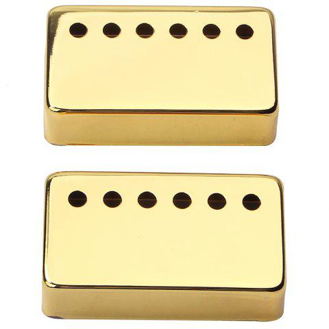 GB303K Metal Pickup Cover 6 Hole for Guitar - GOLD