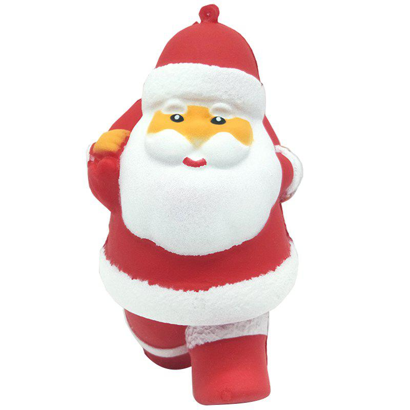Cartoon Santa Claus Squishy Toy Slow Rebound PU