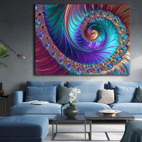 Color Art Print Painting - multicolor 1PC X  24 X 35 INCH( NO FRAME )