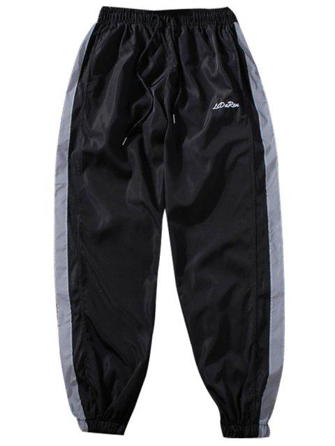 cbadd4482b1 Chaolangjushang GH - GC5508 Men s Long Pants Creative 3D Printing Leisure -  BLACK L