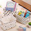 Desktop Canvas Portable Debris Storage Basket - WHITE TREE TYPE