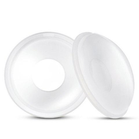 Silicone Milk Collector Washable Anti-overflow Breast Pad - TRANSPARENT