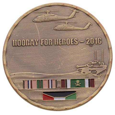 Classical Hero Commemorative Coin Collection Gift - BRONZE