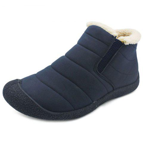 Winter Men's Casual Boots for Outdoor - BLUE EU 43