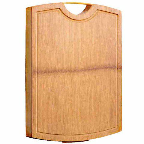 Fashion High Quality Bamboo Chopping Board with Hook - BURLYWOOD 1PC