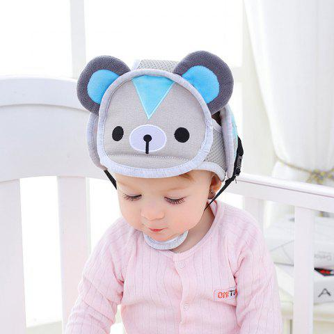 Baby Anti-fall Head Protection Cap - JEANS BLUE