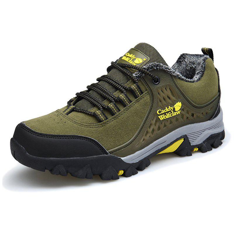 Men's Hiking Shoes Durable Comfortable - ARMY GREEN EU 41