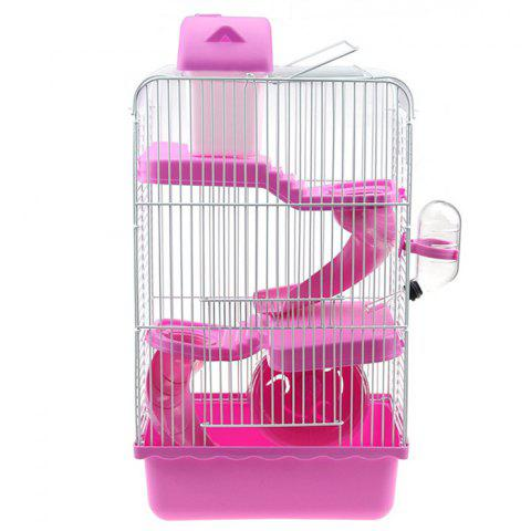professional sale available elegant shoes Three-layer Hamster Cage with Runner Wheel and Slide