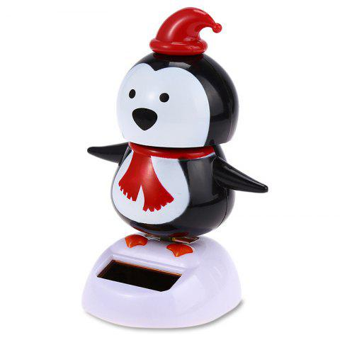 Vehicle-mounted Automatically Swing Penguin Toy Decoration for Ornament - BLACK