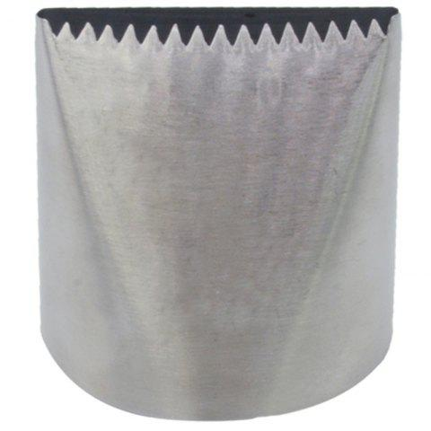 Stainless Steel Cake Pastry Tube for Baking - SILVER