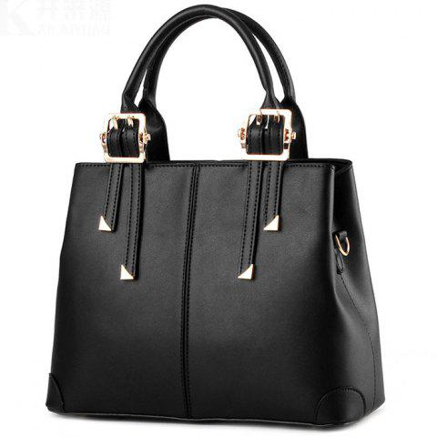 Europe Fashion Handbag - BLACK