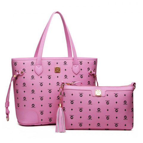 Tigernu T - X8010 Fashion Trendy Son and Mother Handbag - PINK