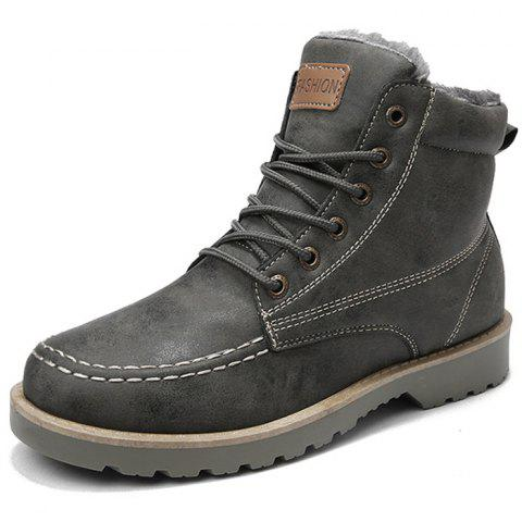 Men's Boot Stylish Comfort Durable - GRAY EU 42