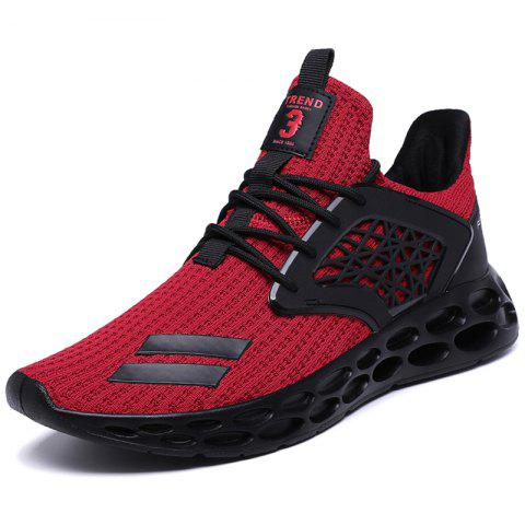 Men Sneakers Stylish Breathable Lightweight - RED EU 43