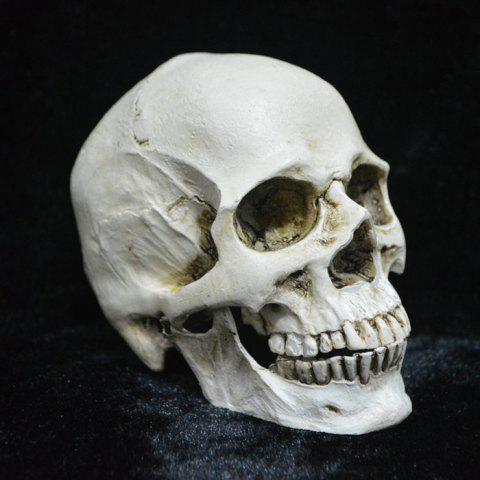 Horror Resin Skull Teeth Can Be Separated For Halloween - WHITE