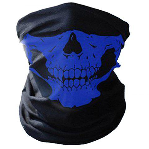 Multifunctional Cycling Seamless Magic Scarf for Outdoor Sports - BLUE