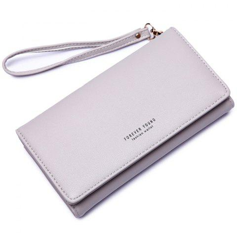 New Personality and Simple Coin Purse - ASH GRAY