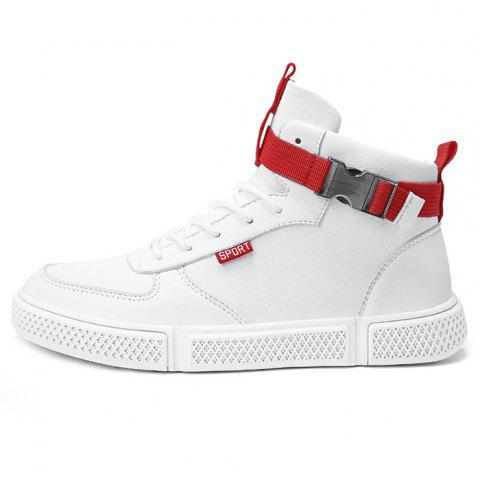 2019 Man Skate Shoes Sport High Wearable In WHITE EU 39  7588241bb80