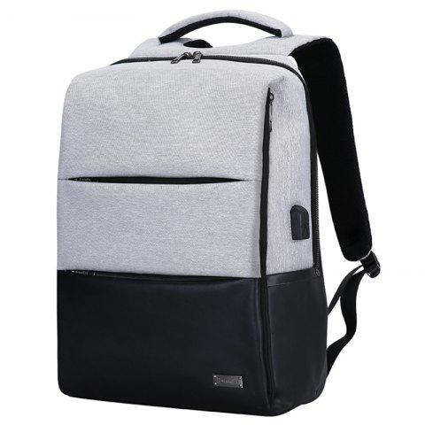 9b548dfdbd24 Men's Backpack Youth Fashionable Simple Casual Business Security School Bag  15.6 inch Laptop Pack