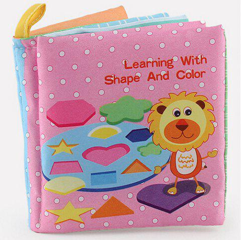 Baby Cloth Book Early Education Toy - multicolor A