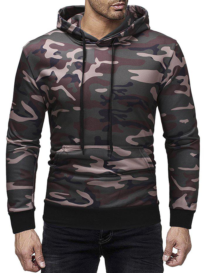 Men's Hoodies Casual Camouflage Print Sports Top