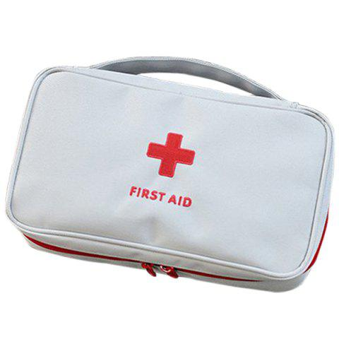 Large Medical Kit Storage Bag for Family Aid - GRAY CLOUD