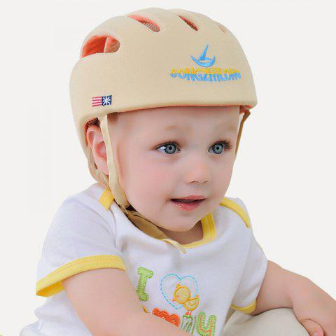 Anti-knock Learning to Walk Cap for Toddlers - CORN YELLOW