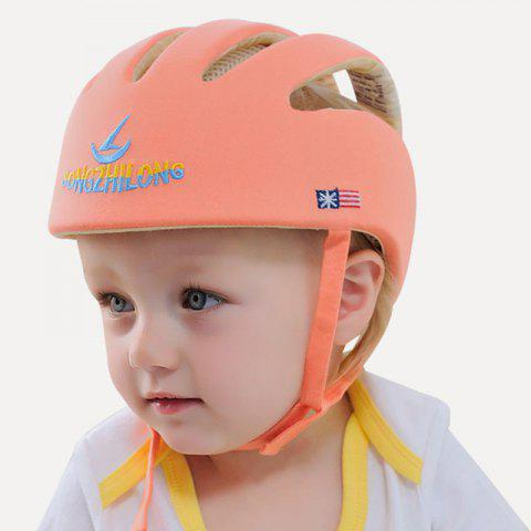 Anti-knock Learning to Walk Cap for Toddlers - PAPAYA ORANGE